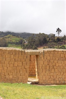 Inca masonry, Ingapirca Ecuador