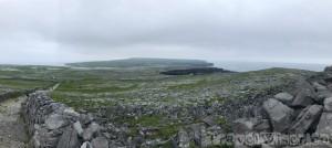 Inshore island view from Dun Aengus