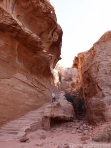 Stairs to the High Place of Sacrifice, Petra Jordan