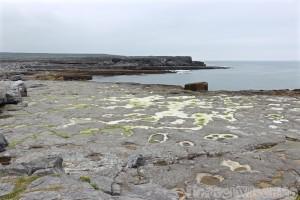 Inishmore coastline near the Wormhole