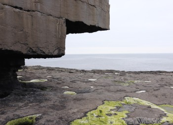 Inishmore coastal rock formations
