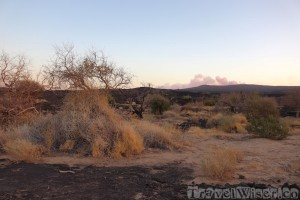 Erta Ale volcano at dawn