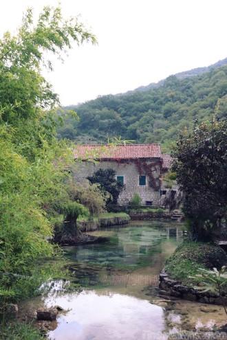 Catovica Mlini restaurant, Bay of Kotor