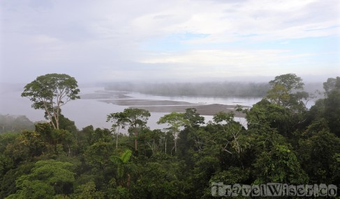 Napo River, Yasuni National Park Ecuador