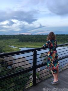 Napo Wildlife Center observation tower