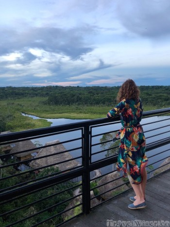 Napo Wildlife Center observation tower