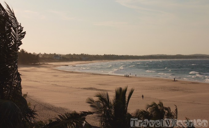 Windswept Tofo beach, Mozambique