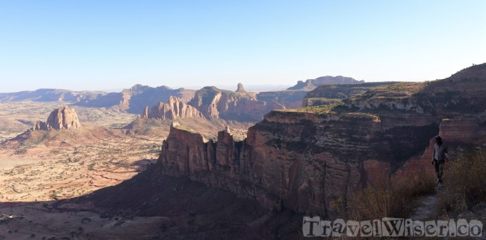 Hiking to Daniel Korkor in Tigray