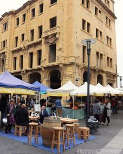 Souk El Tayeb farmers market Beirut