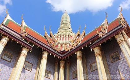 Wat Phra Kaew temple roof