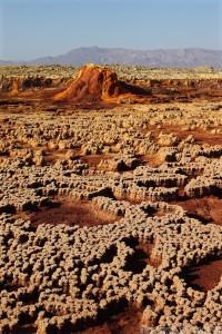 Dallol landscape, Danakil Depression