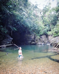 The Three Pools, Marianne River Trinidad