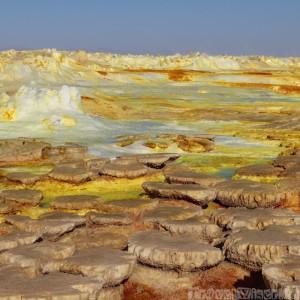 Mineral formations at Dallol