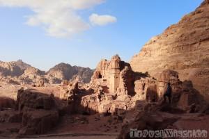 East Cliff royal tombs, Petra Jordan