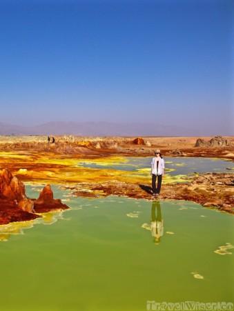 Travel Wiser in Dallol, Danakil Depression Ethiopia