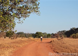 Cycling in Mlilwane Wildlife Sanctuary Swaziland