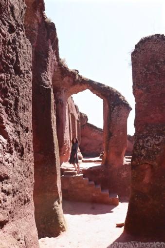The rock-hewn churches of Lailbela Ethiopia