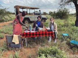 Breakfast in the bush, Saruni Samburu Kenya