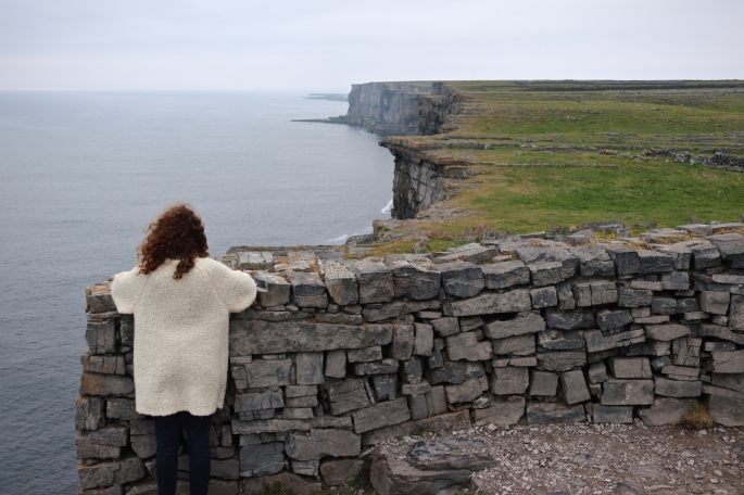Dun Aengus on the cliff, Inishmore