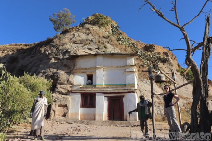 Maryam Korkor church exterior in Tigray