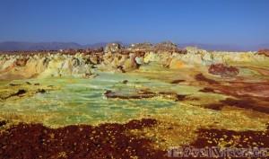 Dallol landscape, Ethiopia