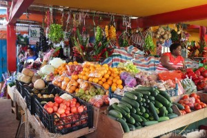 Victoria market, Mahe Seychelles