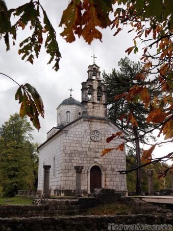 Church in Cetinje Montenegro