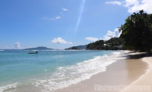 Anse la Blague, Praslin Island Seychelles