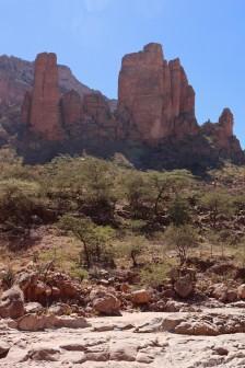 The mountain peak home to Abuna Yemata Guh church