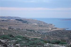 Ta Cenc hotel grounds in Gozo, Malta