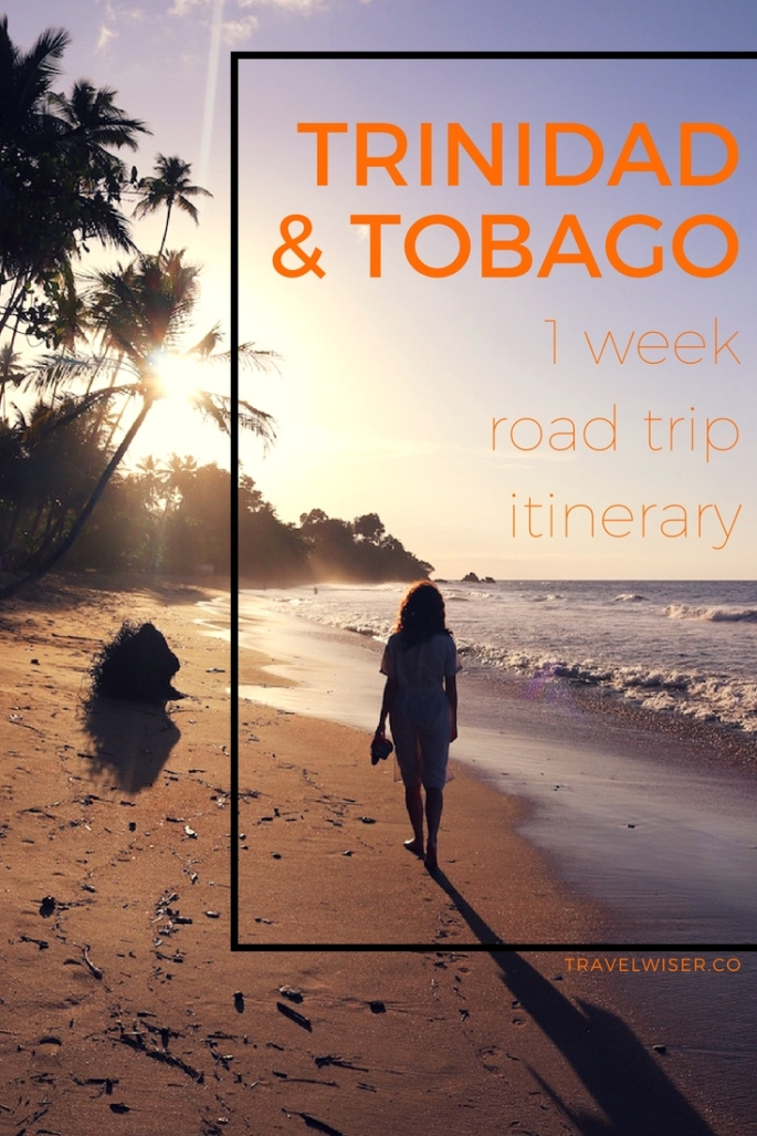 Trinidad and Tobago 1 week itinerary Pinterest pin