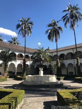 Museo San Francisco courtyard, Quito