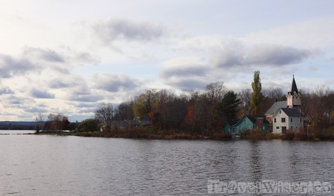 Lakeshore House view, Maine