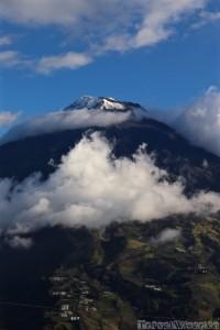 Volcan Tungurahua Ecuador