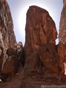 Barrah Canyon Wadi Rum Jordan