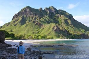 Padar island Komodo National Park Indonesia
