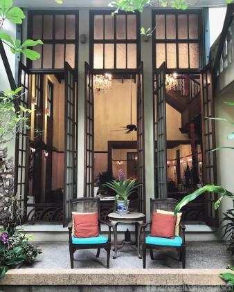 Na Aroon restaurant, Ariyasom Villa Bangkok