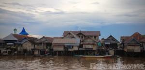 Pangkalan Bun river boardwalk Kalimantan