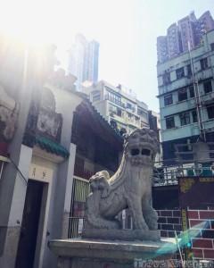 Hong Kong Man Mo Temple exterior