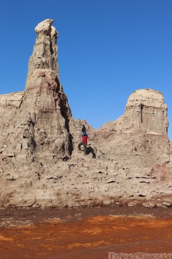 Salt mountains near Dallol, Danakil Depression Ethiopia