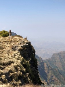 Hiking in the Simien Mountains Ethiopia