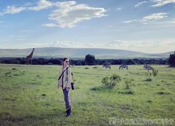 Walking safari in Mara North Conservancy Kenya