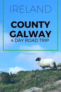 Ireland County Galway 4 day road trip