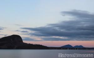 Moosehead Lake at dusk
