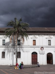 Colonial plaza, Quito Old Town