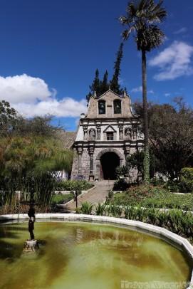 Hacienda la Cienega chapel