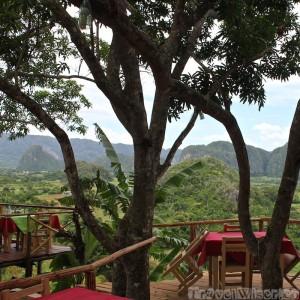 Balcon del Valle restaurant in Vinales Cuba