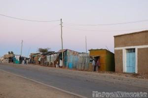 Megab village main road, Tigray Ethiopia