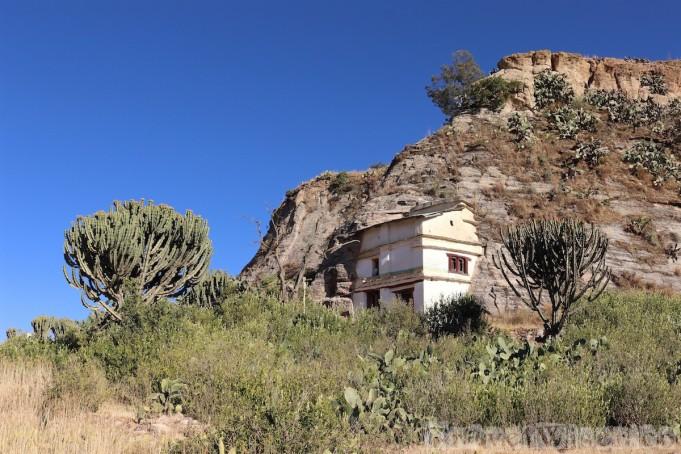 Maryam Korkor rock-hewn church Tigray Ethiopia