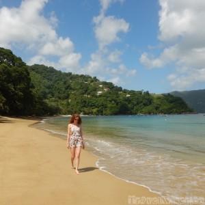On Charlottesville beach, Tobago